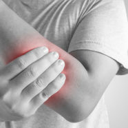 Chiropractic massage to soothe pain in forearm muscle